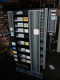 antares combo vending machine with bill changer