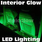 Green LED Lights Interior Neon Glow Lighting Porsche Cayman