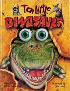 Ten Little Dinosaurs by Pattie L. Schnetzler 1996, Hardcover