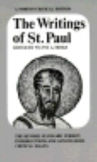 The Writings of St. Paul by St. Paul 1972, Paperback