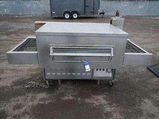 DUTY MIDDLEBY MARSHALL NATURAL GAS COMMERCIAL 32 CONVEYOR PIZZA OVEN