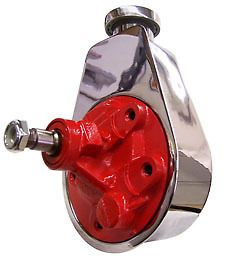 gm chevy chrome saginaw power steering pump reservoir includes free
