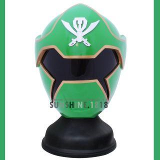 GREEN POWER RANGERS GOKAI GREEN RANGER KAIZOKU SENTAI HELMET COSTUME 1