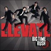 Elevate by Big Time Rush CD, Nov 2011, Columbia USA