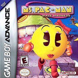 Ms. Pac Man Maze Madness (Nintendo Game Boy Advance, 2004) Game Only