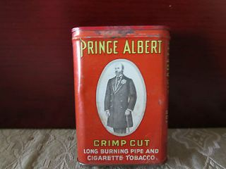 PRINCE ALBERT IN A CAN   VINTAGE TOBACCO TIN  FACTORY NO. 256