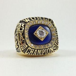 Newly listed 1985 Kansas City Royals Championship World Series Ring