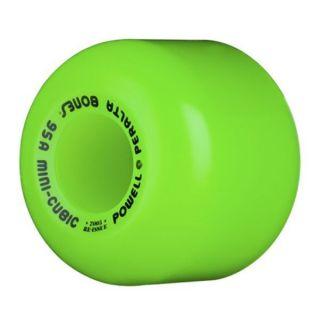 powell peralta bones mini cubic wheels 95a green time left
