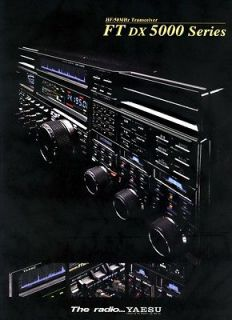 DX5000 HF/50MHz Transceiver Brochure Japanese Version Amateur Radio