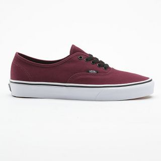 New Vans Shoes Authentic   Port Royale / Black   7 / 8 / 9 / 10 UK