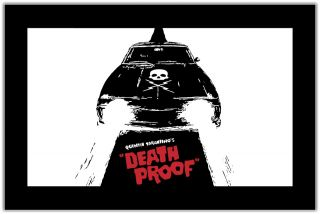 Death Proof Quentin Tarantino Movie Car Bumper Window Locker Sticker