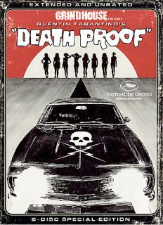 Death Proof DVD, 2007, 2 Disc Set, Widescreen Extended Directors Cut