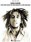 Bob Marley One Love Reggae Piano Sheet Music Guitar Chords Lyrics Book