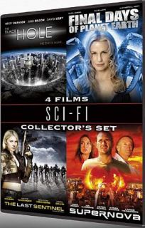 Sci   Fi Collectors Set   4 Films The Black Hole Final Days Of Planet