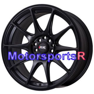 XXR 527 Flat Black Concave Rims Wheels 5x100 13 Scion FRS 08 12 xA xB
