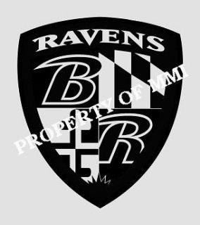 Baltimore RAVENS Style#16 Vinyl DECAL Window Car Wall Truck Man Cave