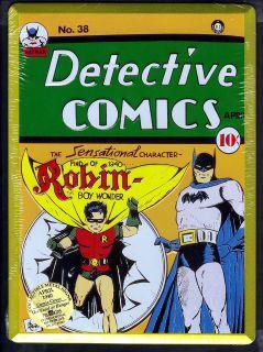 Comics Issue #38 Batman Robin New Comic Book Cover Tin Metal Sign Rare