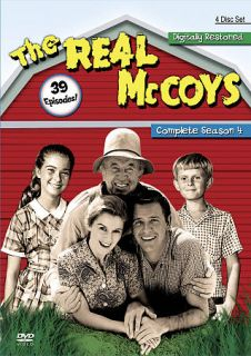 The Real McCoys Complete Season 4 DVD, 2010, 4 Disc Set