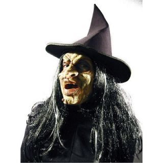 foam latex prosthetic halloween mask witch 2nd skin one day