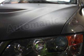 3D Textured Real Carbon Fiber Vinyl Wrap 60 x 60 Roll Air Free Roof