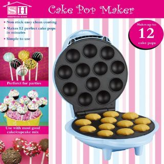 ELECTRIC CAKE POP MAKER BAKING MACHINE PARTY COOKWARE NON STICK MOULD