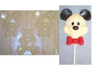 mickey mouse chocolate candy mold molds soap favors time left