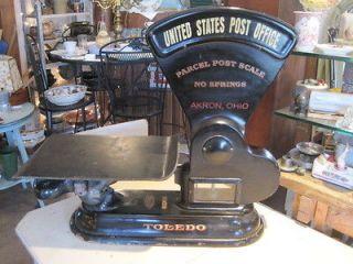 antique toledo postal scale u s parcel post time left
