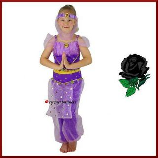 Harem princess girls arabian nights fancy dress jasmine kids costume