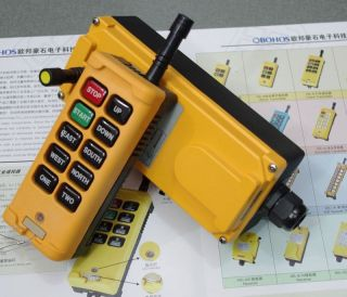 One Speed Truck Hoist Crane Radio Remote Control System Controller