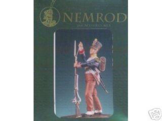 Historex Nemrod Soldier Standing & Reloading 54mm 1/32