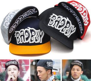New Bad Boy Good Girl Hat Ball Cap Snapback Flat Brim Adjustable G