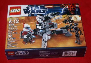 Lego Star Wars 9488 Endor Reb/Imp Trooper   FACTORYSEALED   FREE