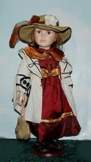 Rebecca ~ Lovely Porcelain Doll from the Knightsbridge Collection
