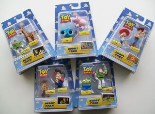 Choice of Mattel DISNEY TOY STORY Buddy Twin Pack Small Figure Set at