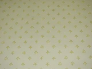 BRUNSCHWIG & FILS CREAM & GOLD PUTNAM DOUBLE ROLL WALLPAPER