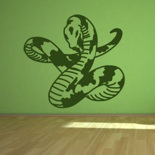 Snake Python Jungle Animals Wall Art Sticker Wall Art Transfers