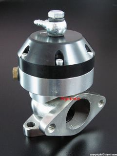 listed 44MM Turbo Stainless Steel MINI Wastegate Waste gate 4 PSI BLUE