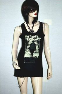My Chemical Romance MCR Metal Rock DIY Sexy Singlet Tank Top Shirt