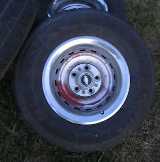 Chevy GMC Polished Wheel Set 8x6.5 8 lug Truck Wheels 5079 OEM Factory