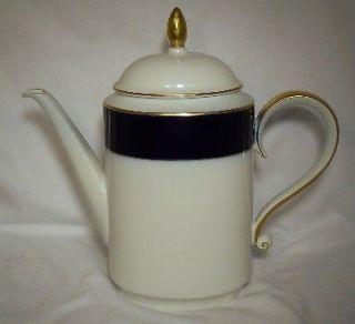heinrich china echt kobalt cobalt blue coffee pot lid time