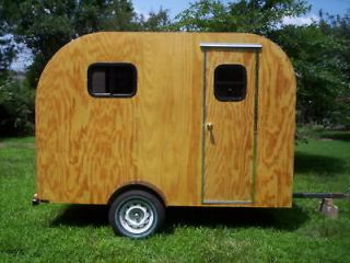teardrop camper trailer tear drop rv camp plans 2 one