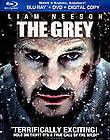 The Grey (Blu ray/DVD, 2012, 2 Disc Set, Includes Digital Copy