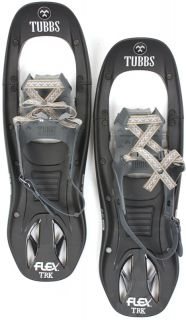TUBBS FLEX TRK Snowshoes Snow Shoe Pair 24 Mens Black NEW