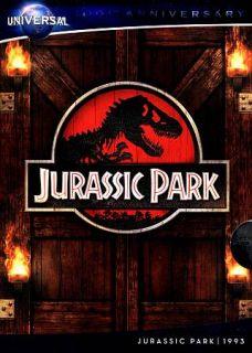 Jurassic Park DVD, 2012, Universal 100th Anniversary Includes Digital