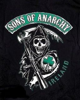 Sons of Anarchy {REAPER CREW IRELAND} Licensed SAMCRO 2 Sided SOA