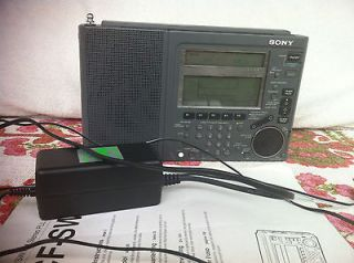 Sony ICF SW77 AM/FM,on of the best Shortwave Radio+manual & Power