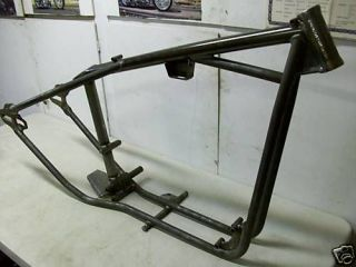 harley ironhead sportster rigid hardtail frame chassis time left $