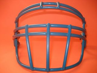 Ricky WIlliams STYLED Face mask with BLUE Riddell Max Pro II