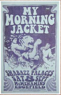 my morning jacket poster in Entertainment Memorabilia