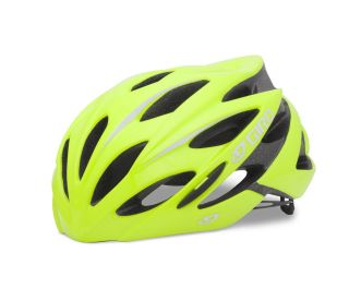 giro savant highlight yellow road bike helmet size medium time